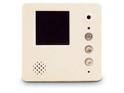WHITE LABEL - Camera de surveillance-WHITE LABEL-Magnet mémo original avec enregistreur vidéo deco