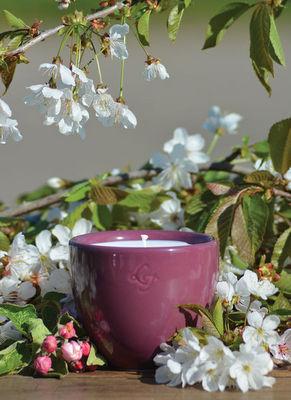 LES LUMIÈRES DU TEMPS - Bougie parfumée-LES LUMIÈRES DU TEMPS-Bougie céramique violet