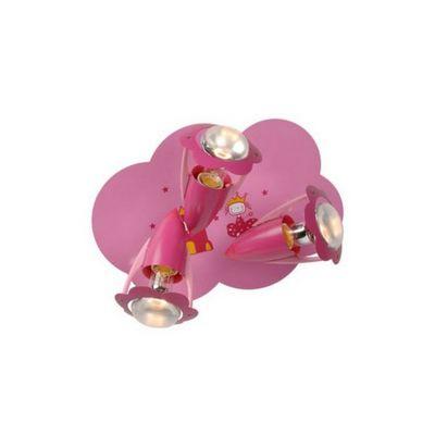 LUCIDE - Luminaire enfant-LUCIDE-Plafonnier enfant Pinky