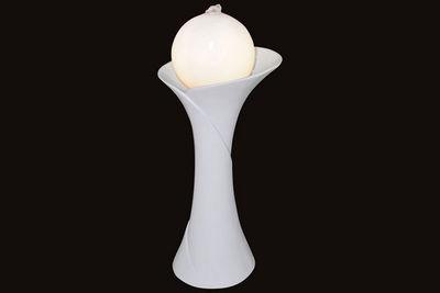 ZEN LIGHT - Fontaine d'int�rieur-ZEN LIGHT-Fontaine d'int�rieur Ostria avec �clairage 15x15x
