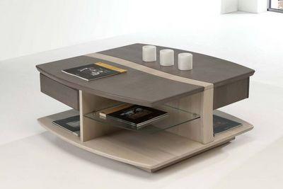 Ateliers De Langres - Table basse carrée-Ateliers De Langres-OCEANE