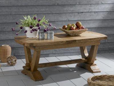Ateliers De Langres - Table basse rectangulaire-Ateliers De Langres-NOGENT