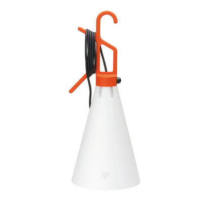FLOS - Lampe à poser-FLOS-MAY DAY - Lampe à poser ou à suspendre Orange H53c
