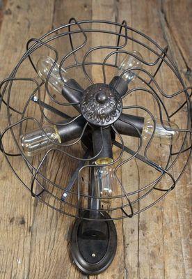 COMPAGNIE DES AMPOULES A FILAMENT - Applique-COMPAGNIE DES AMPOULES A FILAMENT-Applique Ventilateur