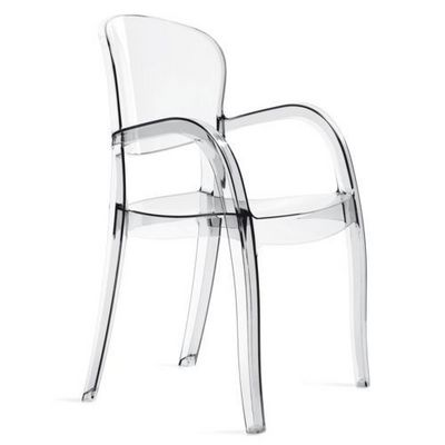 WHITE LABEL - Chaise-WHITE LABEL-Chaise JOKER design transparente