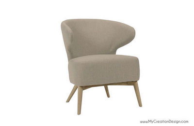 MyCreationDesign - Fauteuil-MyCreationDesign-PAT TAUPE