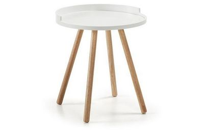 MyCreationDesign - Table d'appoint-MyCreationDesign-VASCO BLANC