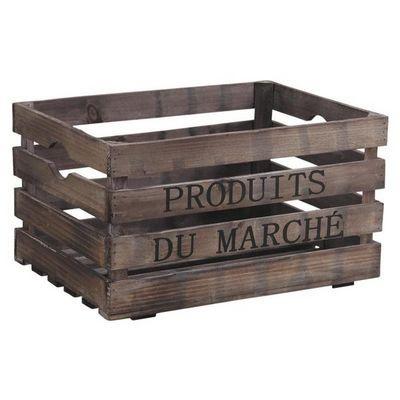 Aubry-Gaspard - Caisse de rangement-Aubry-Gaspard-Caisse Produits du Marché