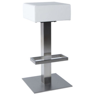 KOKOON DESIGN - Tabouret de bar-KOKOON DESIGN-Tabouret de bar similicuir Noble Blanc