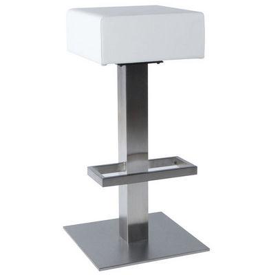 KOKOON DESIGN - Tabouret de bar-KOKOON DESIGN-Tabouret de bar similicuir Noble Blanc