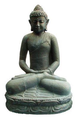 STATUES DU MONDE - Statuette-STATUES DU MONDE-Statue Bouddha assis en méditation