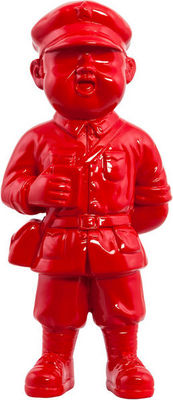 KOKOON DESIGN - Statuette-KOKOON DESIGN-Statue en polyrésine rouge Gino