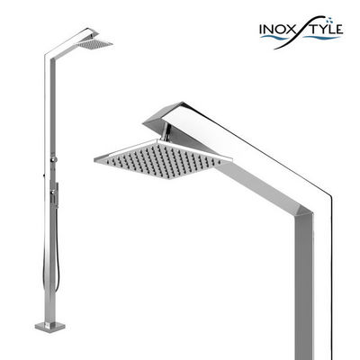 INOXSTYLE - Douche d'extérieur-INOXSTYLE-Tecno Cube MMT Stylo