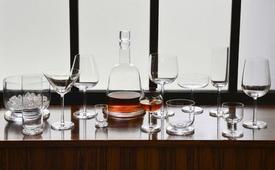 GUILLAUME DELVIGNE - Carafe à whisky-GUILLAUME DELVIGNE-Horizon / Cristal de Sèvres