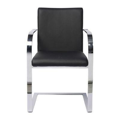 Kare Design - Chaise-Kare Design-Chaise avec accoudoirs Canto noir