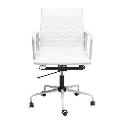 Kare Design - Chaise de bureau-Kare Design-Chaise de bureau pivotante Wave blanche