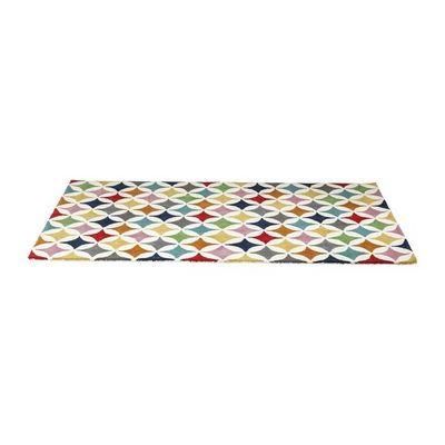 Kare Design - Tapis contemporain-Kare Design-Tapis Multicolore Campo de Color 170x240cm