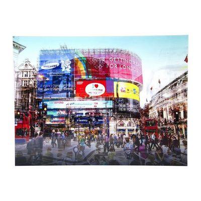 Kare Design - Tableau décoratif-Kare Design-Tableau en Verre Piccadilly Circus 120x160