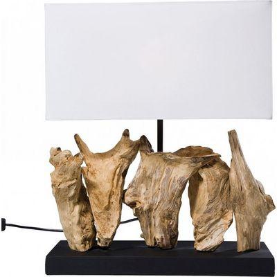 Kare Design - Lampe � poser-Kare Design-Lampe de Table Nature Vertical