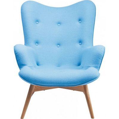 Kare Design - Fauteuil-Kare Design-Fauteuil Retro Angels Wings bleu