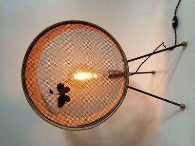 VIEUBLED - Lampe à poser-VIEUBLED-Tamis Tripode
