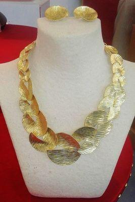 SZENDY GRINHILDA - Parure de bijoux-SZENDY GRINHILDA-Nénuphar