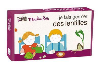 GRAINES EN FOLIE - Semence-GRAINES EN FOLIE-Kit de germination lentille AB