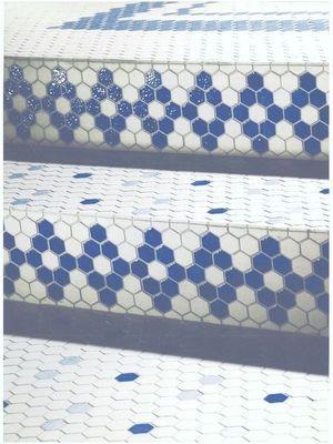 Emaux de Briare - Carrelage de sol mosaique-Emaux de Briare-Gemmes
