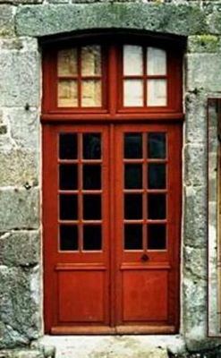 Ateliers Pierre-Yves Lancelot - Porte d'entrée vitrée-Ateliers Pierre-Yves Lancelot