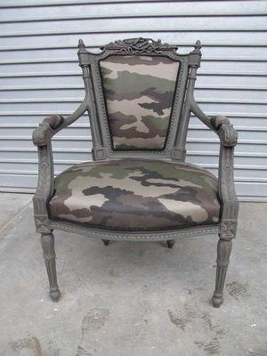 Englers - Fauteuil-Englers-Louis VI Camouflage