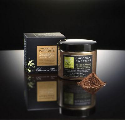 PARFUMS DE TABLE - Chocolat parfumé-PARFUMS DE TABLE-Trésor Mayas