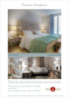 DECO PRIVE - Idées: Chambres d'hôtels-DECO PRIVE-Réalisation de chambres d'hôtel