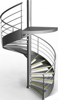 Gantois - Escalier hélicoïdal-Gantois
