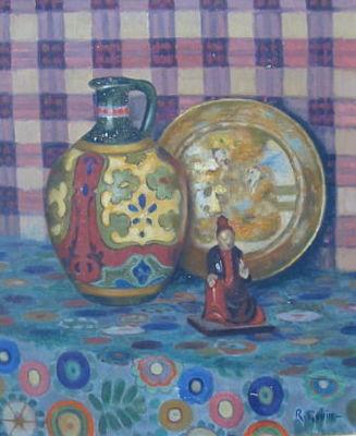 Antiquit�s Passion - Huile sur toile et huile sur panneau-Antiquit�s Passion