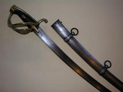 Aux Armes d'Antan - Sabre-Aux Armes d'Antan-Sabre réglementaire Français de Cavalerie légère, modèle An XI, Troupe