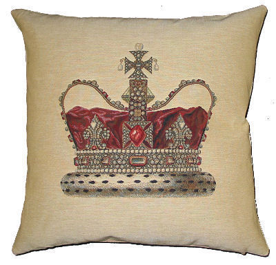 Belgian Tapestries - Coussin carré-Belgian Tapestries-PC-