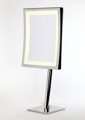 Miroir Brot - Miroir � poser lumineux-Miroir Brot-Square LM-AP