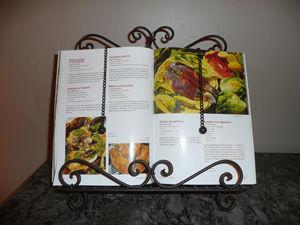 Antic Line Creations - Lutrin-Antic Line Creations-Lutrin de cuisine antique 32x8x34cm