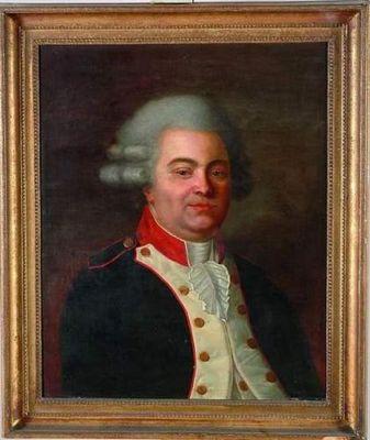 Baron Antiquit�s - Huile sur toile et huile sur panneau-Baron Antiquit�s-Portait d'un homme de qualit�
