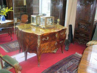 Antiquités FAUROUX - Commode-Antiquités FAUROUX-Commode Louis XV