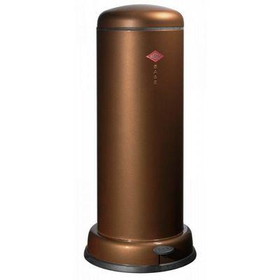 Wesco - Poubelle de cuisine-Wesco-Baseboy 30L chocolat