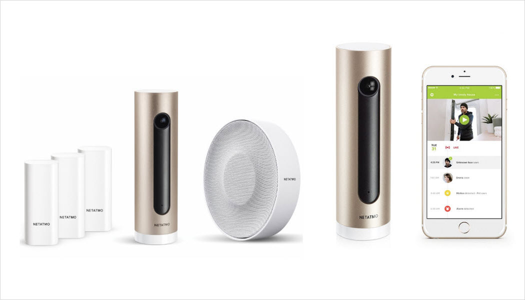 NETATMO Alarm Alarms Home automation  |