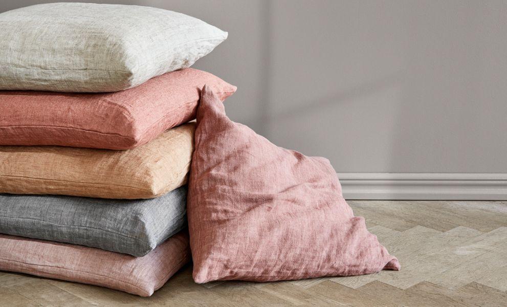 COZY LIVING Cushion cover Pillows & pillow-cases Household Linen  |