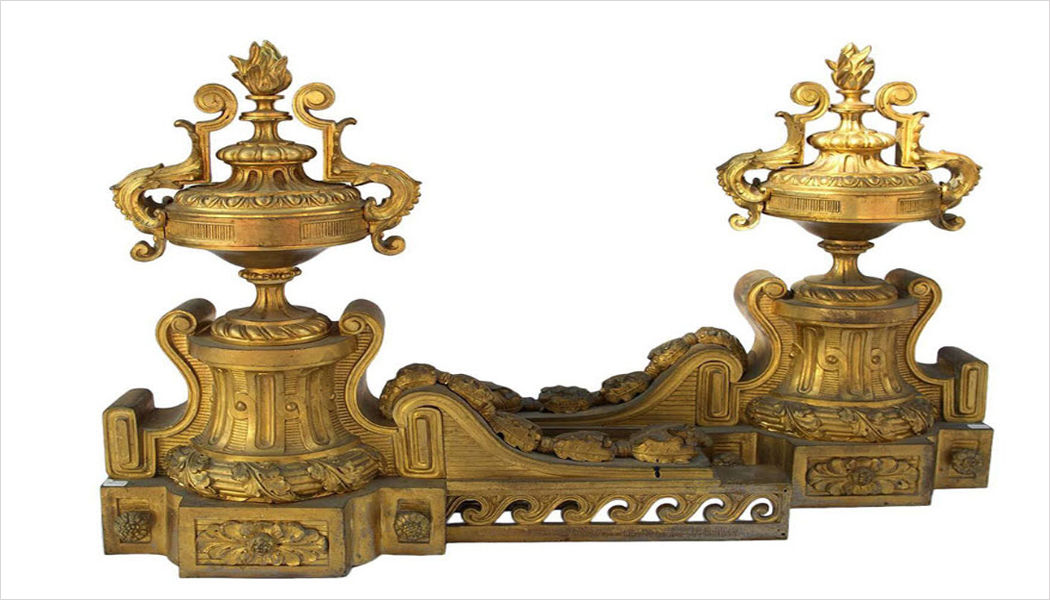 Jean Luc Ferrand Andiron Fireside accessories Fireplace  |