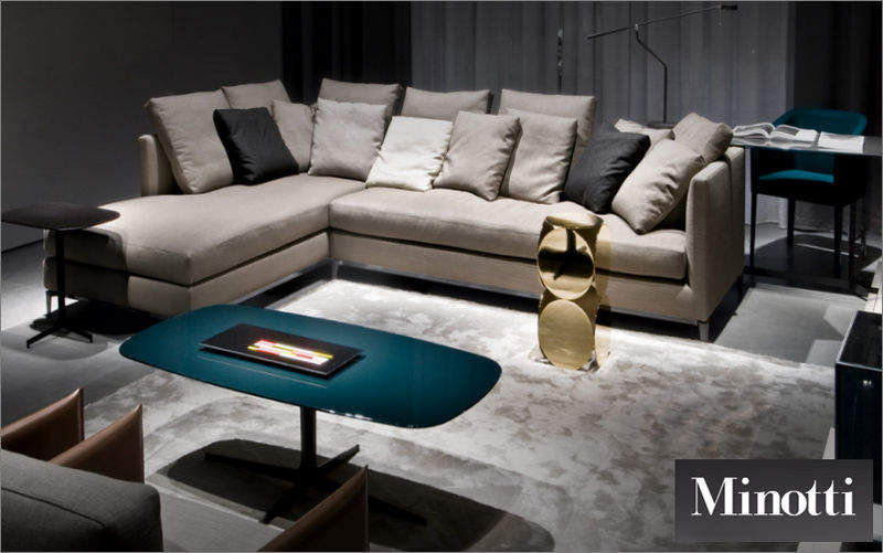 Minotti Adjustable sofa Sofas Seats & Sofas Living room-Bar | Design Contemporary