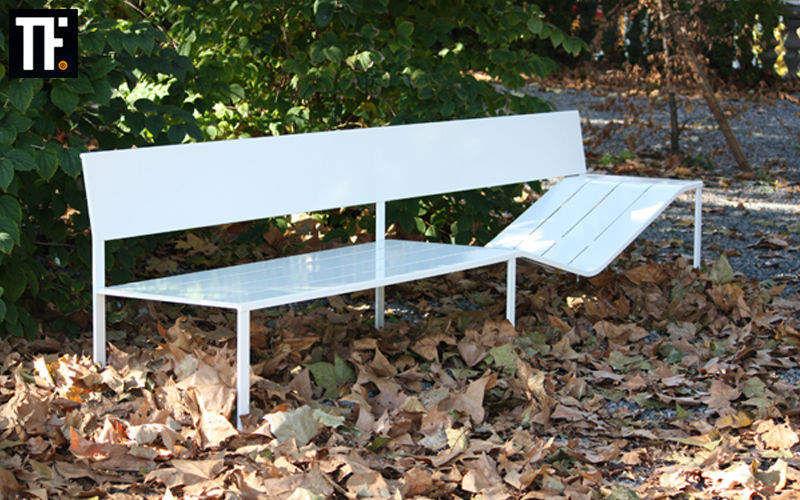 TÔLERIE FOREZIENNE Garden bench Garden seats Garden Furniture Garden-Pool |