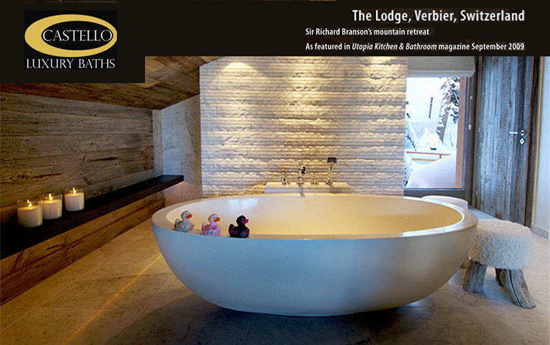 Castello Luxury Baths Freestanding bathtub Bathtubs Bathroom Accessories and Fixtures Bathroom |