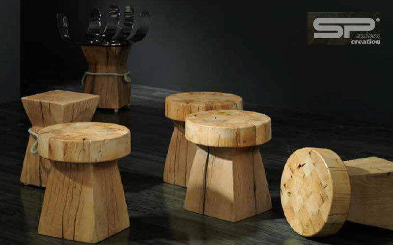 Sprenger MÖBEL Stool Footstools and poufs Seats & Sofas Living room-Bar |