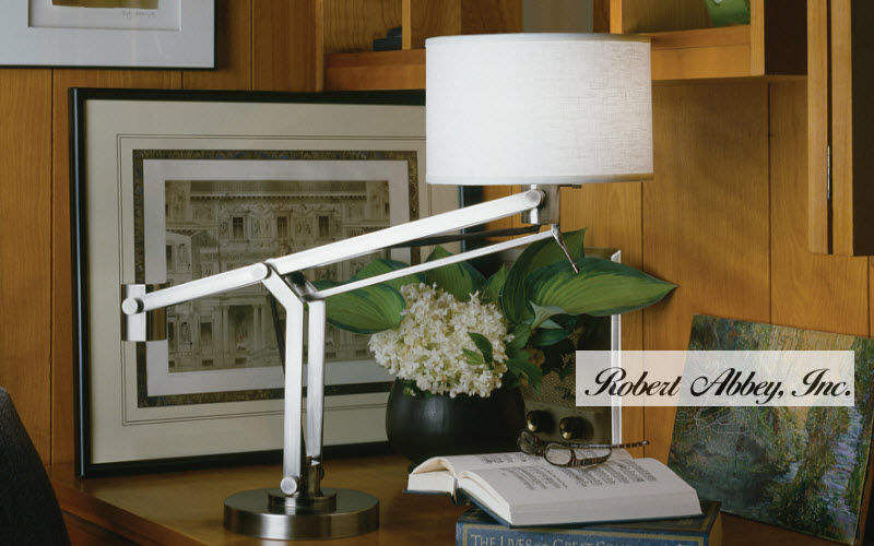 Robert Abbey Desk lamp Lamps Lighting : Indoor Home office | Design Contemporary