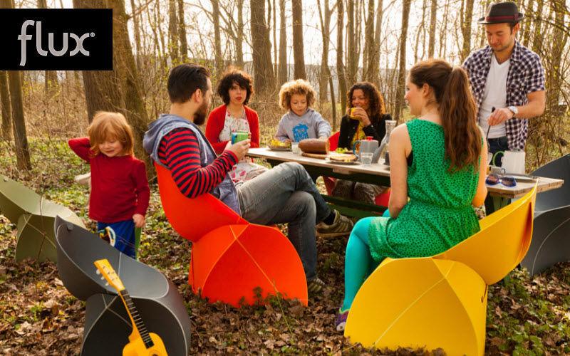 Flux Folding garden armchair Outdoor armchairs Garden Furniture   